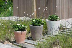 Poterie Goicoechea Garten-Blumentopf