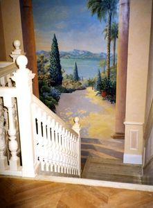 Atelier Follaco Trompe l'oeil Malerei