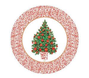 Pappteller mit Weihnachtsmotiv-CASPARI