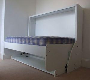 Combiné Lit / Bureau - double - Hochklappbares Bett