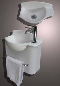 Atlantic Bain - mikro plus gauche - Handwaschbecken