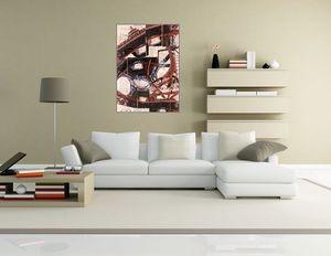 JOHANNA L COLLAGES - montagnes eiffel - Zeitgenössische Gemälde
