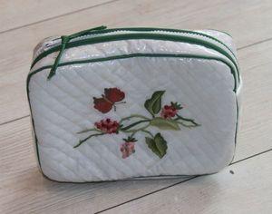 Brigitte Vermelin - floralies - Toilettentasche