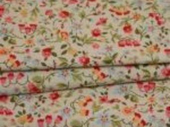 TISSUSDESLUNES - fleurs - Bedruckter Stoff