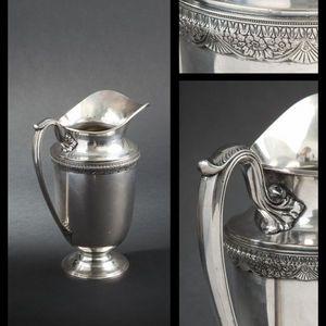 Expertissim - roger bros. aiguière en métal argenté. - Antike Karaffe
