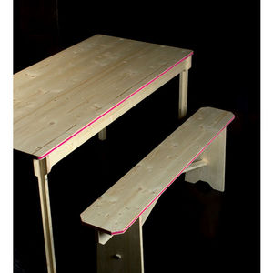 béô design - table bistrot en bois rectangle - Kûche Tisch