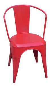 Sweet Mango - chaise métal industriel - Stuhl