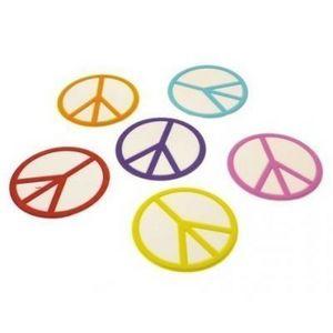 Present Time - dessous de verre peace - Tischset