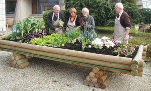 LE JARDINOU - potager transportable jardinou 4x1,50x0,75m - Gartenkasten