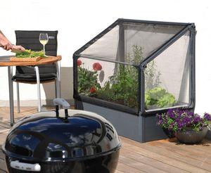 Growcamp - potager surélevé à adosser 120x62x108cm - Mini Treibhaus