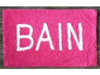 ILIAS - tapis salle de bain bain rose - Badematte