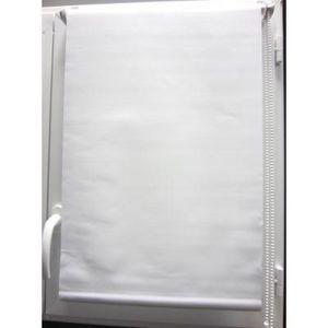 Luance - store enrouleur occultant blanc 120x180cm - Rollo