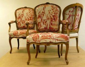 ATELIER CITRON -  - Sitzmöbel Stoff
