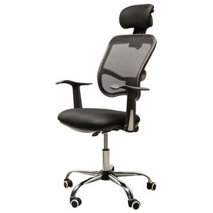 WHITE LABEL - chaise de bureau ergonomique respirant - Bürosessel