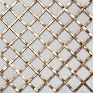 BRASS - g02001-- - Dekorative Drahtzaun