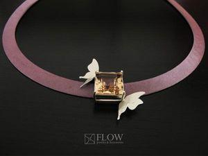 FLOW JEWELRY -  - Stein Wasserbecken