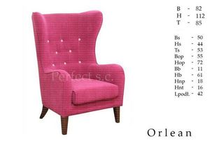 MEBLE PERFECT - orlean - Ohrensessel