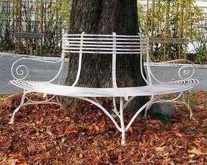 ANTIQUE FRENCH GARDEN -  - Garten Rundbank
