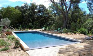 PISCINE PLAGE - en pente douce - Traditioneller Swimmingpool