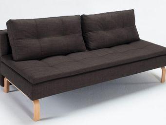 INNOVATION - supreme dual deluxe canapé design marron convertib - Bettsofa