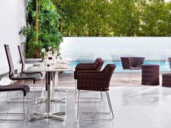 Varaschin - kente lounge chair  - Gartensessel