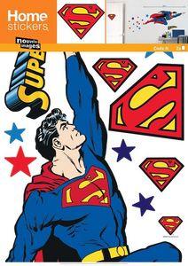 Nouvelles Images - sticker mural superman - Kinderklebdekor