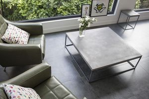 LYON BÉTON - perspective coffe table xl - Couchtisch Quadratisch