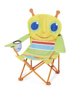 Melissa & Doug - chaise pliante sunny patch chenille - Kindersessel