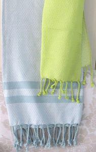 ITI  - Indian Textile Innovation - diamond dobby - Bettüberwurf