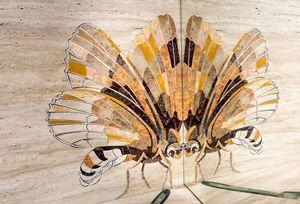 MANEO - insectes - Trompe L'oeil Malerei