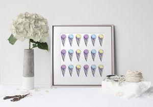 la Magie dans l'Image - print art glace pastel - Dekobilder