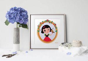 la Magie dans l'Image - print art héros blanche neige - Dekobilder