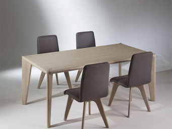 robin des bois - table rectangulaire, chêne, 8 couverts, sixty - Rechteckiger Esstisch