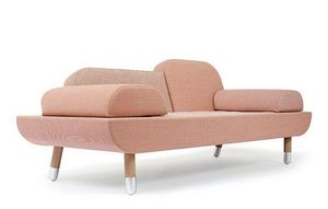 Studio ANNE BOYSEN - toward _the pink lady-- - Sofa 2 Sitzer
