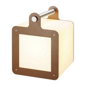 SLV - cube portable extérieur omnicube ip54 h43 cm - Gartenleuchte