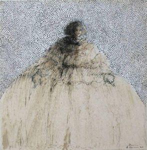 HANNA SIDOROWICZ - thoughts of a women - Zeitgenössische Gemälde