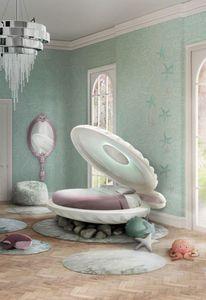 CIRCU - fille- little mermaid - Kinderbett
