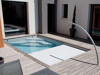 CARON PISCINES - 'smart cover - - Automatische Swimmingpoolabdeckung