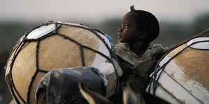 Nouvelles Images - affiche enfant peul bororo niger - Plakat