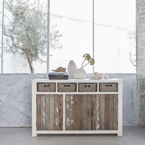 BOIS DESSUS BOIS DESSOUS - buffet en bois de pin recyclé 143 atlantic - Anrichte