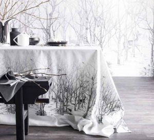 Alexandre Turpault - la forêt enchantée - Rechteckige Tischdecke