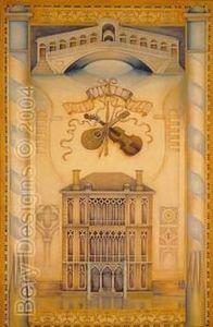 Bery Designs - villa rotunda - Wandbehang
