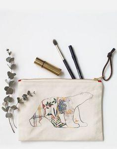 BOULBAR -  pompon - Kosmetiktasche