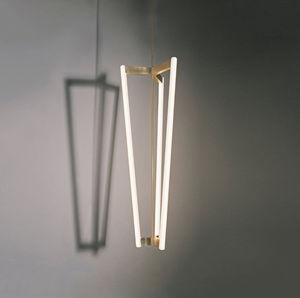 MICHAEL ANASTASSIADES - tube chandelier - Deckenlampe Hängelampe