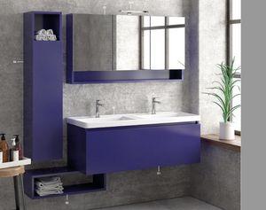 ITAL BAINS DESIGN - space 120 laque - Badezimmermöbel