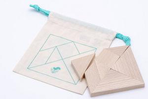 LES JOUETS LIBRES - qi - tangram - Holzspiel