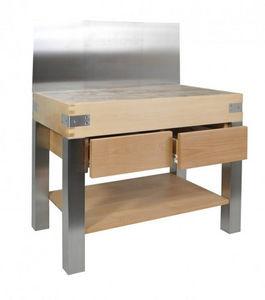 CHABRET - inox pro - Küchenblock