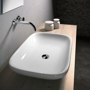 CasaLux Home Design - clear 66 - Waschbecken Freistehend