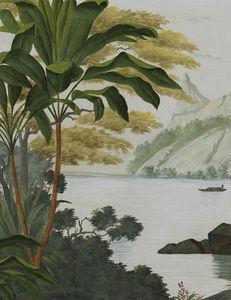 Ananbô - samoa couleur patine xviiième - Panoramatapete
