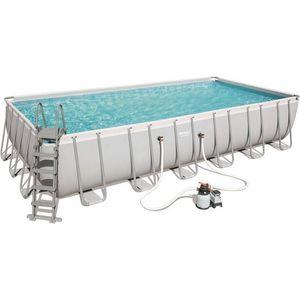Bestway - piscine hors-sol tubulaire 1421916 - Pool Mit Stahlohrkasten